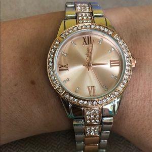 NWT Two Toned Bracelet Watch!